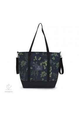 Nákupná taška s bylinkovým motívom