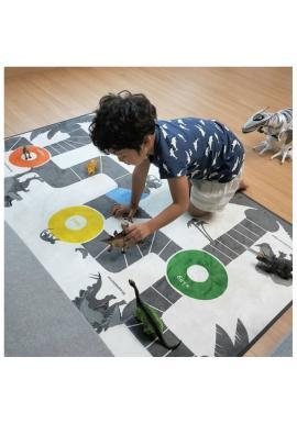 Detský koberec/podložka na hranie s motívom dinosaurov