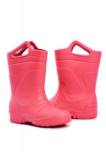 Ružové klasické gumáky pre dievčatá
