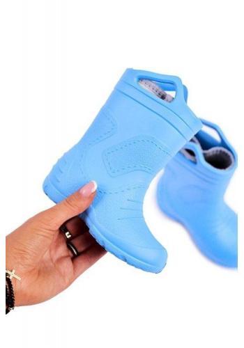 Modré gumáky pre deti