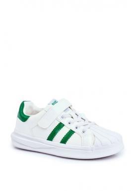 Detské tenisky Big Star v zeleno-bielej kombinácii