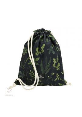 Vodeodolné vrecko s bylinkovým motívom