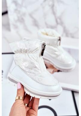 Otelené dievčenské snehule v bielej farbe