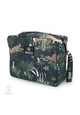 Vodeodolný kozmetický kufrík so zvieracím motívom