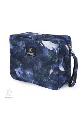 Vodeodolný kozmetický kufrík s motívom magického lesa