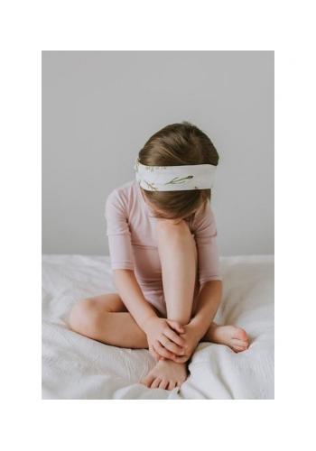 Detská bambusová elastická čelenka - Herbal