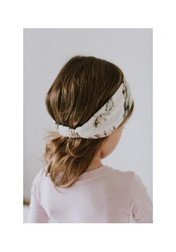 Bambusová elastická čelenka pre dievčat - Pacific Turtle