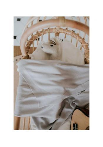 Strieborná ľahká bambusová deka pre deti