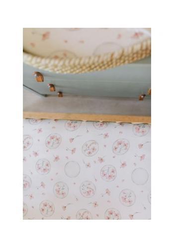 Bavlnené detské prestieradlo s gumkou na posteľ - ILLUSION