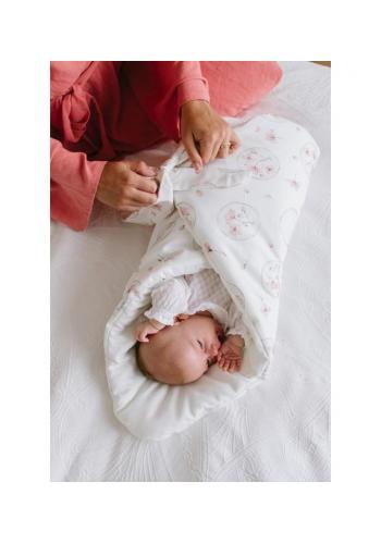 Bavlnená detská zavinovačka - ILLUSION