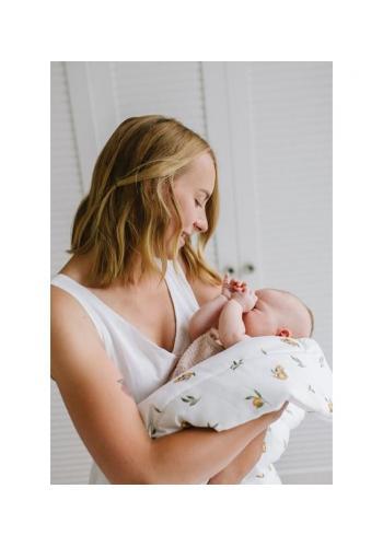 Bavlnená zavinovačka pre bábätka - SECRET