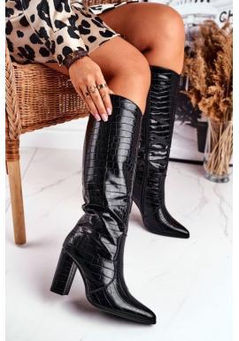 Štýlové dámske topánky na vysokom podpätku