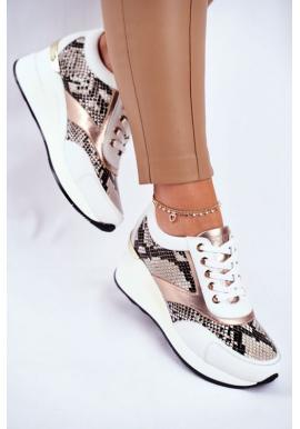 Dámska obuv Big Star v bielej farbe