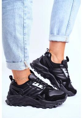 Čierne tenisky pre dámy