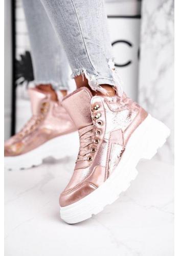 Trendy topánky v ružovej farbe pre dámy