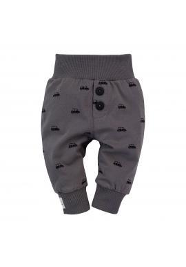 Dojčenské nohavice s poltačou pre chlapcov