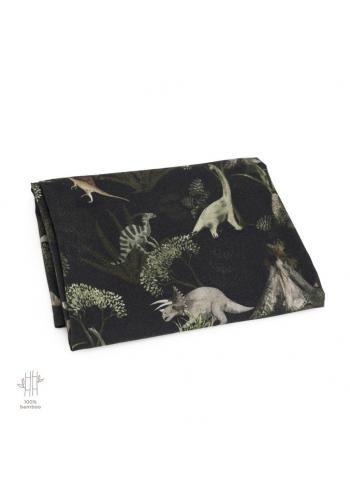 Bambusová deka na leto s motívom sveta dinosaurov