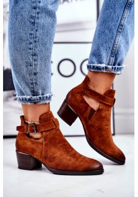 Módne topánky na vysokom podpätku