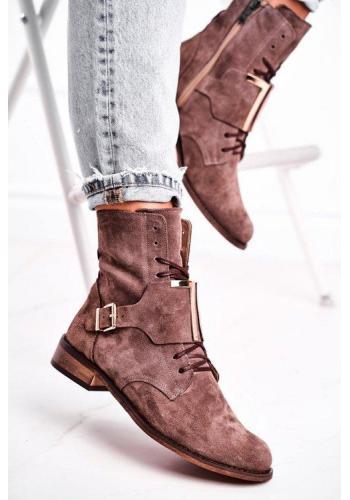 Dámske topánky v béžovéj farbe