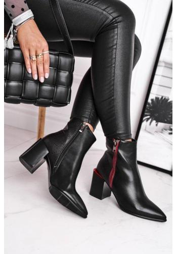 Čierne dámske čižmy
