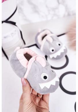 Sivé papuče so žralokom pre deti