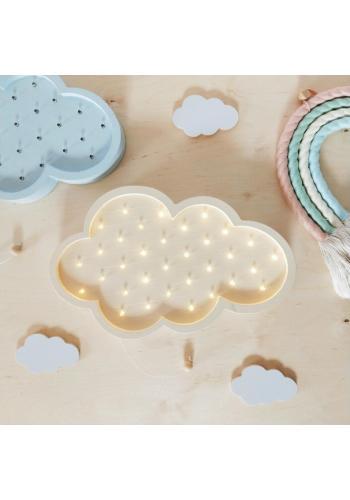 Detské drevené lampy v podobe oblakov