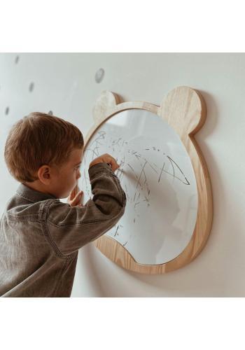 Magnetická suchostierateľná tabuľa v podobe medveďa