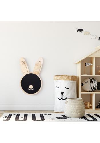 Detská magnetická kriedová tabuľa v podobe zajaca