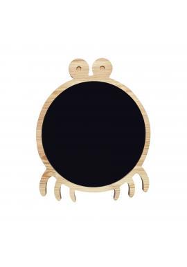 Magnetická kriedová tabuľa v podobe kraba