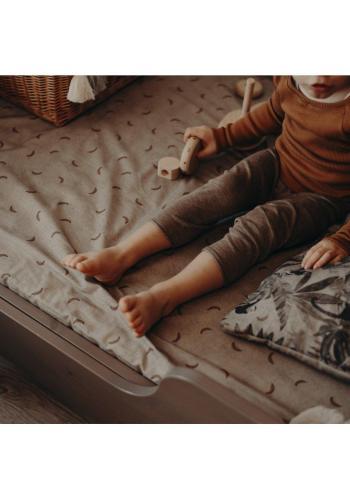 Detské prestieradlo na posteľ s gumkou s motívom ornitológie