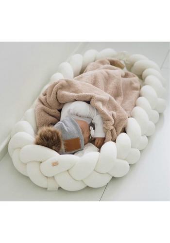 Uzlíkové detské hniezdo 2v1 vo farbe ecru