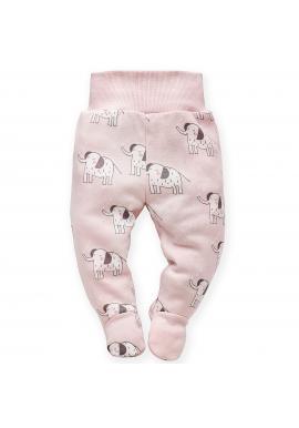 Pohodlné detské polodupačky ružovej farby