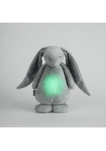 Svietiaci králik MOONIE so šumivým efektom v sivej farbe