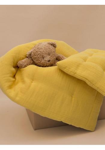 Šumiaci MOONIE medvedík v hnedej farbe s podsvietením