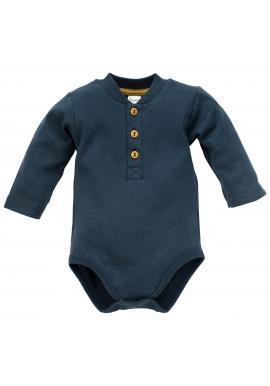Pohodlné body tmavo modrej farby pre chlapca