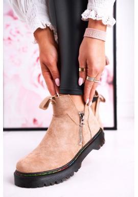 Semišové topánky pre dámy