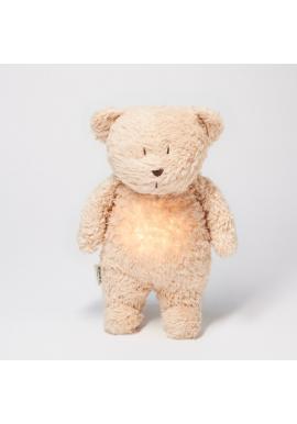 Šumiaci MOONIE medvedík v béžovej farbe s podsvietením