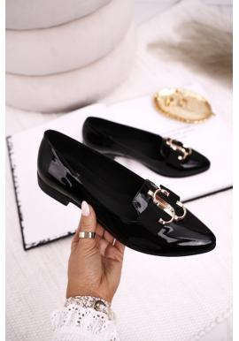 Dámske čierne balerínky pre dámy