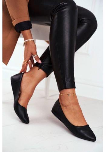 Čierne balerínky pre dámy