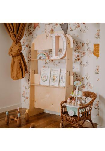 Drevená opona pre deti - Pekáreň