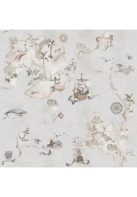 Sivá tapeta Príbehy z mapy