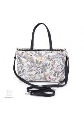 Príručná taška na kočík s motívom ornitológie