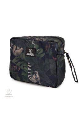 Vodeodolný kozmetický kufrík s motívom detektívov z džungle