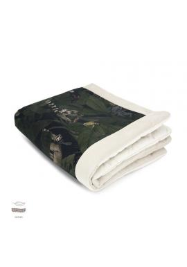 Teplá zamatová deka pre deti s motívom detektívov z džungle