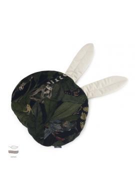 Zamatový vankúš s ušami s motívom detektívov z džungle