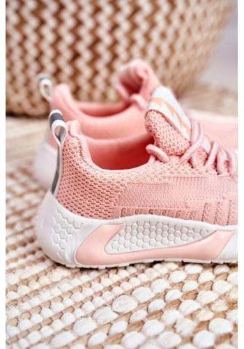 Detské vzdušné tenisky v ružovej farbe