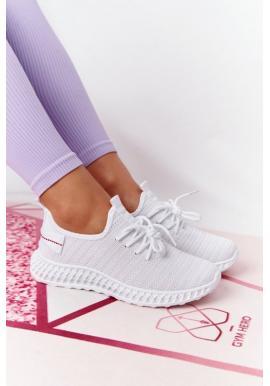 Biele športové dámske tenisky