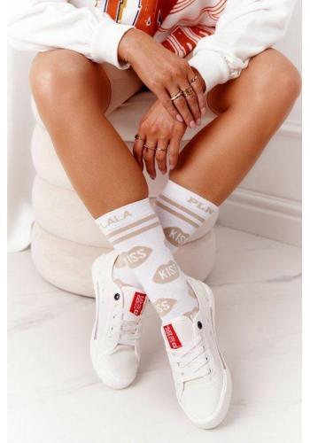 Trendy tenisky pre dámy v bielej farbe
