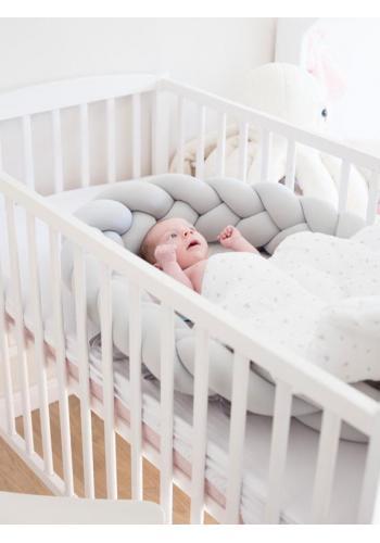 Saténová výbava pre novorodenca 4v1 - Koala/ sivá