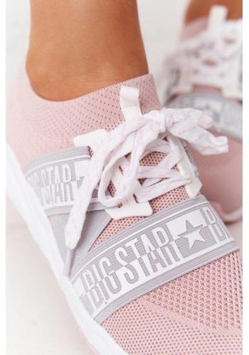 Štýlové Big Star tenisky pre dámy v ružovej farbe